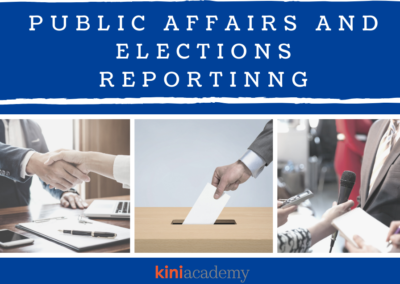 Public Affairs and Elections Reporting